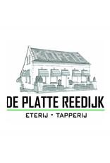 Koffie met dudok appeltaart voor €3,50 bij De Platte Reedijk in Heinenoord