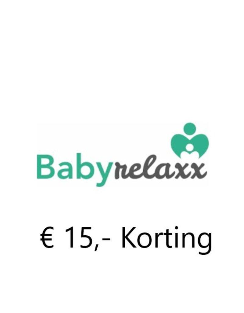 1x €15 korting op 60min. zwangerschapsmassage bij Baby Relaxx in Oud-Beijerland
