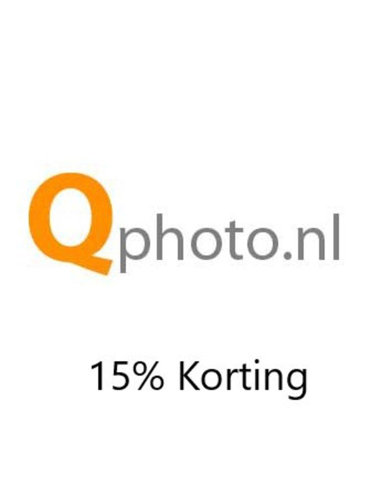 Onbeperkt 15% korting bij Qphoto in Maasdam