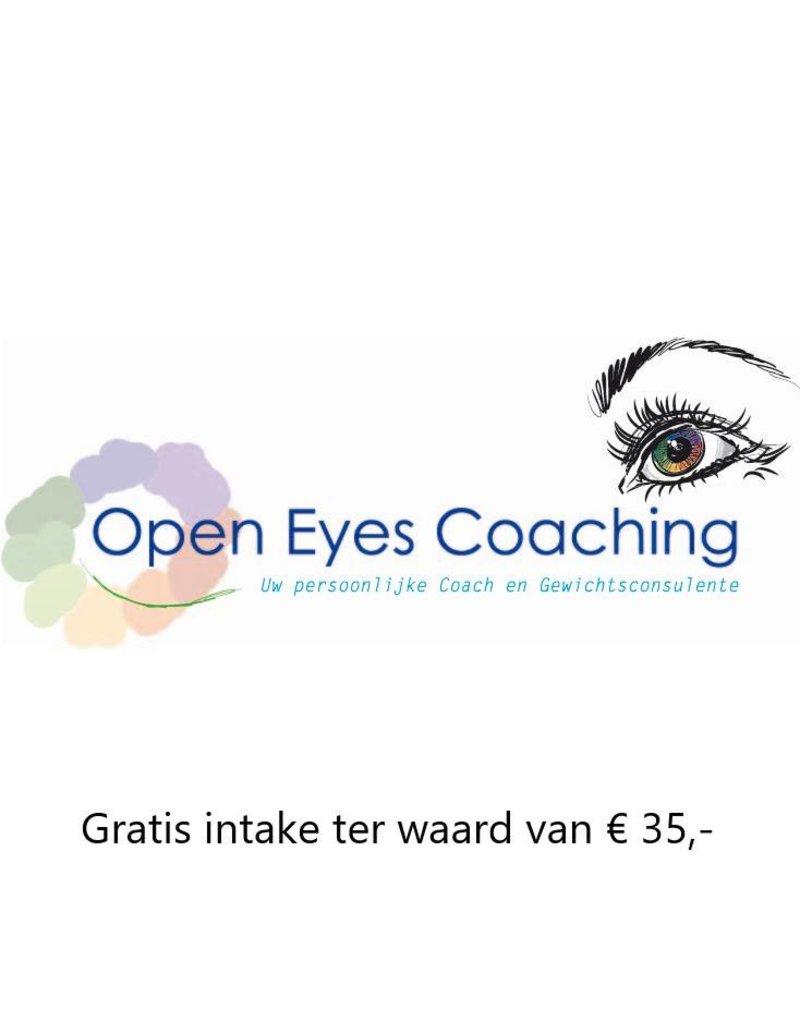 1x gratis intake gesprek bij Open Eyes Coaching in 's Gravendeel