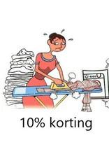 Onbeperkt 10% korting bij Strijkservice in Heinenoord