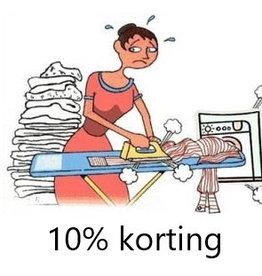 Onbeperkt 10% korting