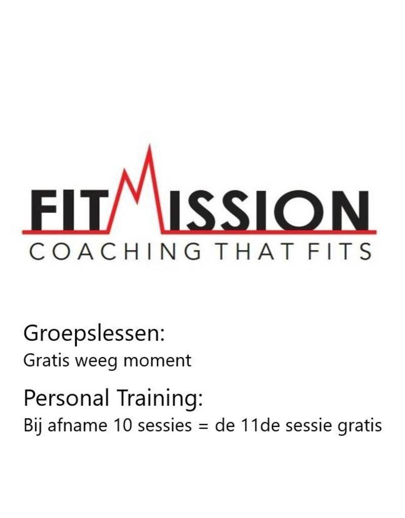 1x gratis personal training bij Fit Mission in Numansdorp