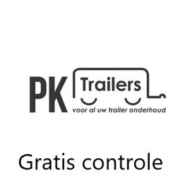 1x gratis controle van aanhangwagen of caravan of trailer