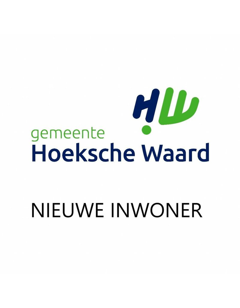 HWPas Nieuwe inwoner pakket