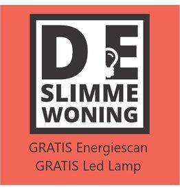 1x gratis energiescan + gratis ledlamp