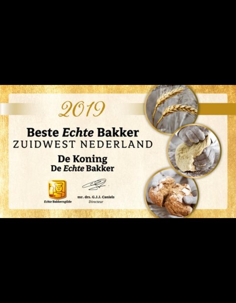 Onbeperkt Hoeksch Broodpakket voor slechts €10,- bij Echte Bakker de Koning in Puttershoek en 's Gravendeel