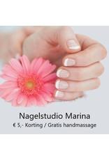 Onbeperkt gratis handmassage bij Nagelstudio Marina in Nieuw Beijerland - Copy