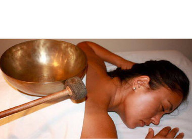 Ananda Klankschaal - Eenmalig 15% korting op een massage