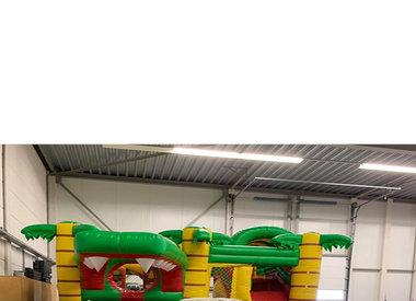 Attractieschuur Hoeksche Waard - Gratis kinderspel bij huren van een springkussen