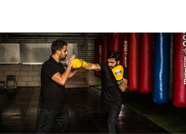 KR-Boxing & personal training - éénmalig 50% korting op een strippenkaart (10 lessen)