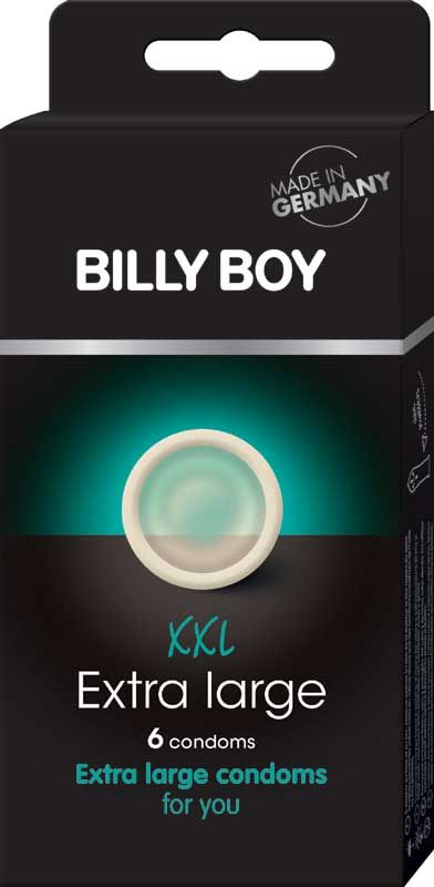 Billy Boy XXL - 6 Extra Large Condooms Met Ruimere Top