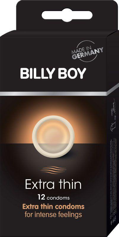 Billy Boy Extra Thin - 12 Dunnere Condooms