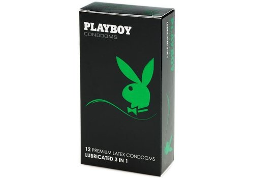 Playboy 3-in-1  12 condooms