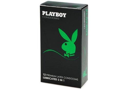 Playboy 3-in-1  12 condooms