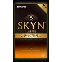 Skyn King Size 12 Latexvrije condooms (zonder doosje)