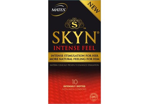 Mates Skyn Intense Feel condooms (12 stuks)