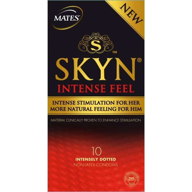Mates Skyn Intense Feel Latexvrije Condooms (12 Stuks Zonder Doosje)