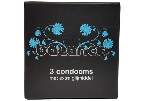 Balance 3 Condooms (doosje)