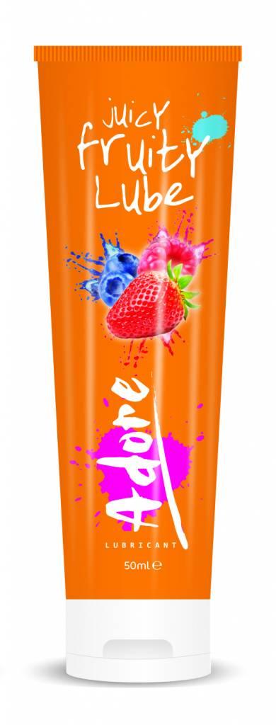 Adore Juicy Fruity Lube - Glijmiddel Met Fruitsmaak (50ml)