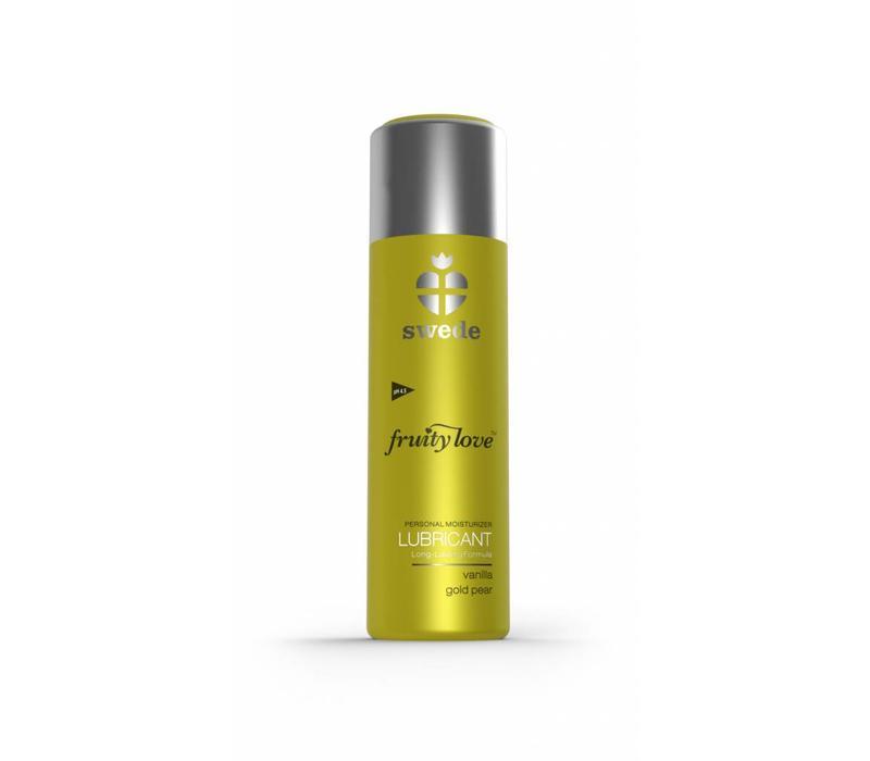 FruityLove glijmiddel waterbasis Vanilla Gold Pear