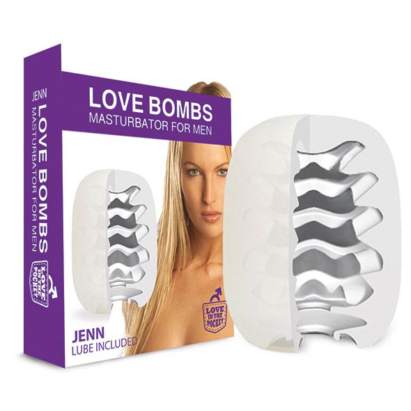 Love In The Pocket Love Bombs Jenn - Toy Voor Hem