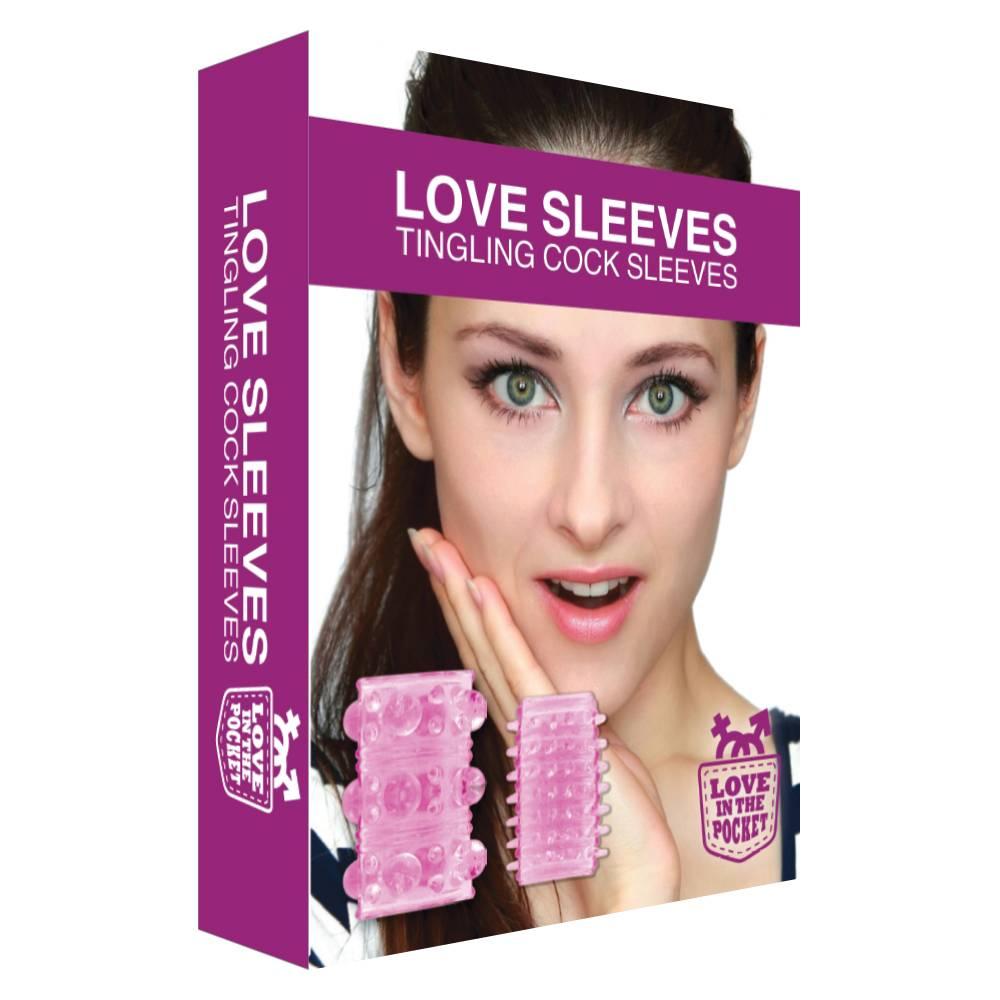 Love In The Pocket Love Sleeves - 2 Stimulerende Speeltjes