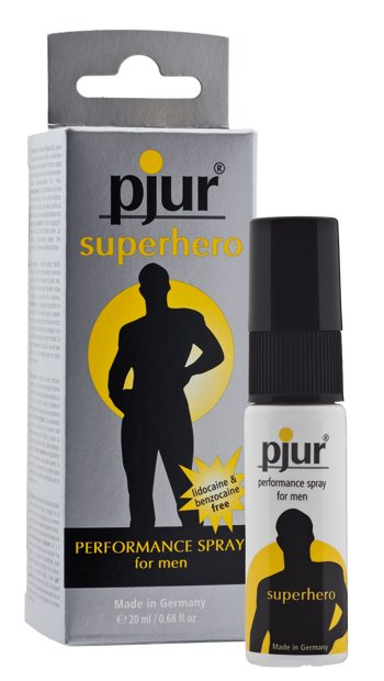 Pjur Superhero Performance Spray (20ml)