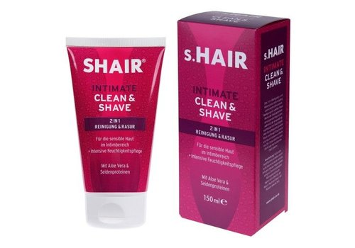 s.Hair Intimate Clean & Shave  (150ml)