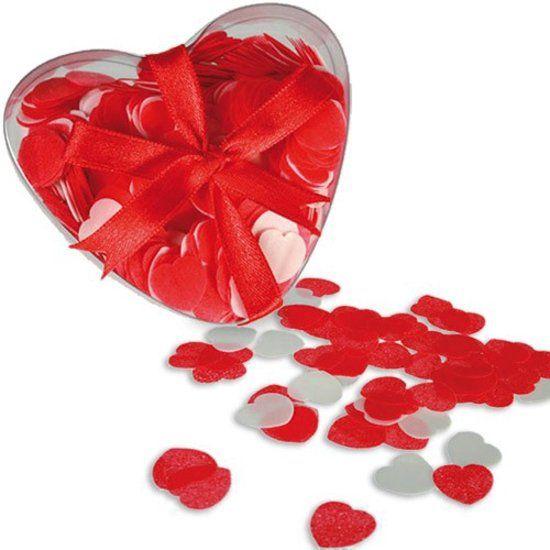 Condoom Anoniem Bad Confetti In Hartvorm