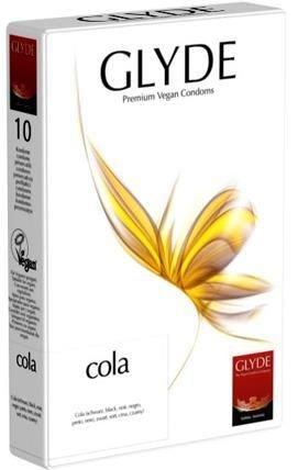 Glyde Ultra Cola - 10 Zwarte Vegan Condooms