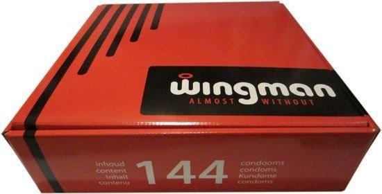 Wingman Condooms (doos 144 Stuks)