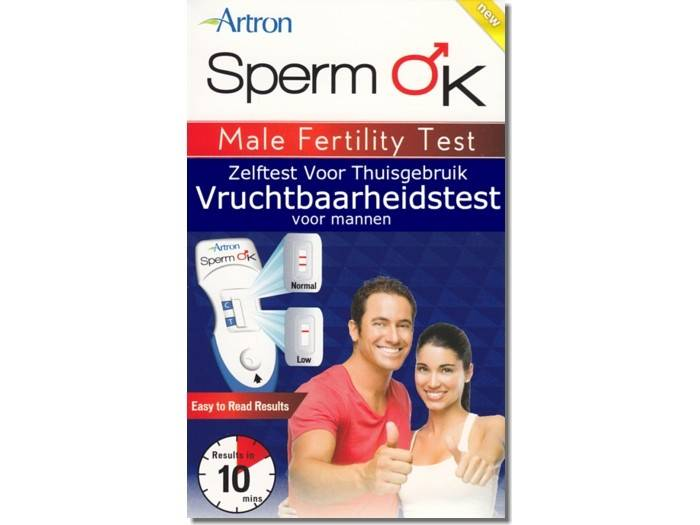 Sperm OK Sperm OK - Vruchtbaarheidstest Man - Spermatest