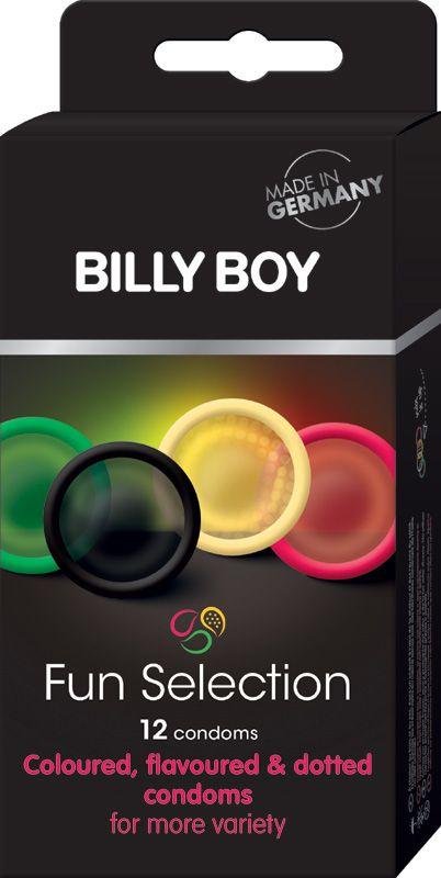 Billy Boy Fun Selection 12 Condooms