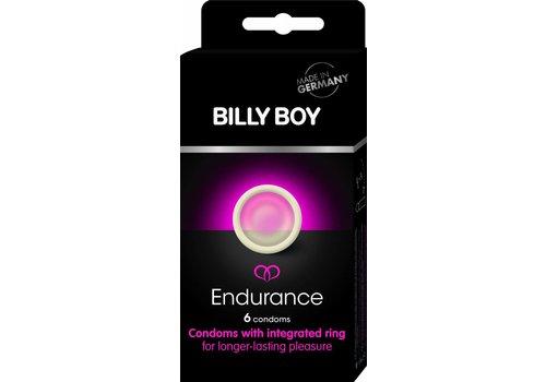 Billy Boy Endurance - 6 condooms met ring