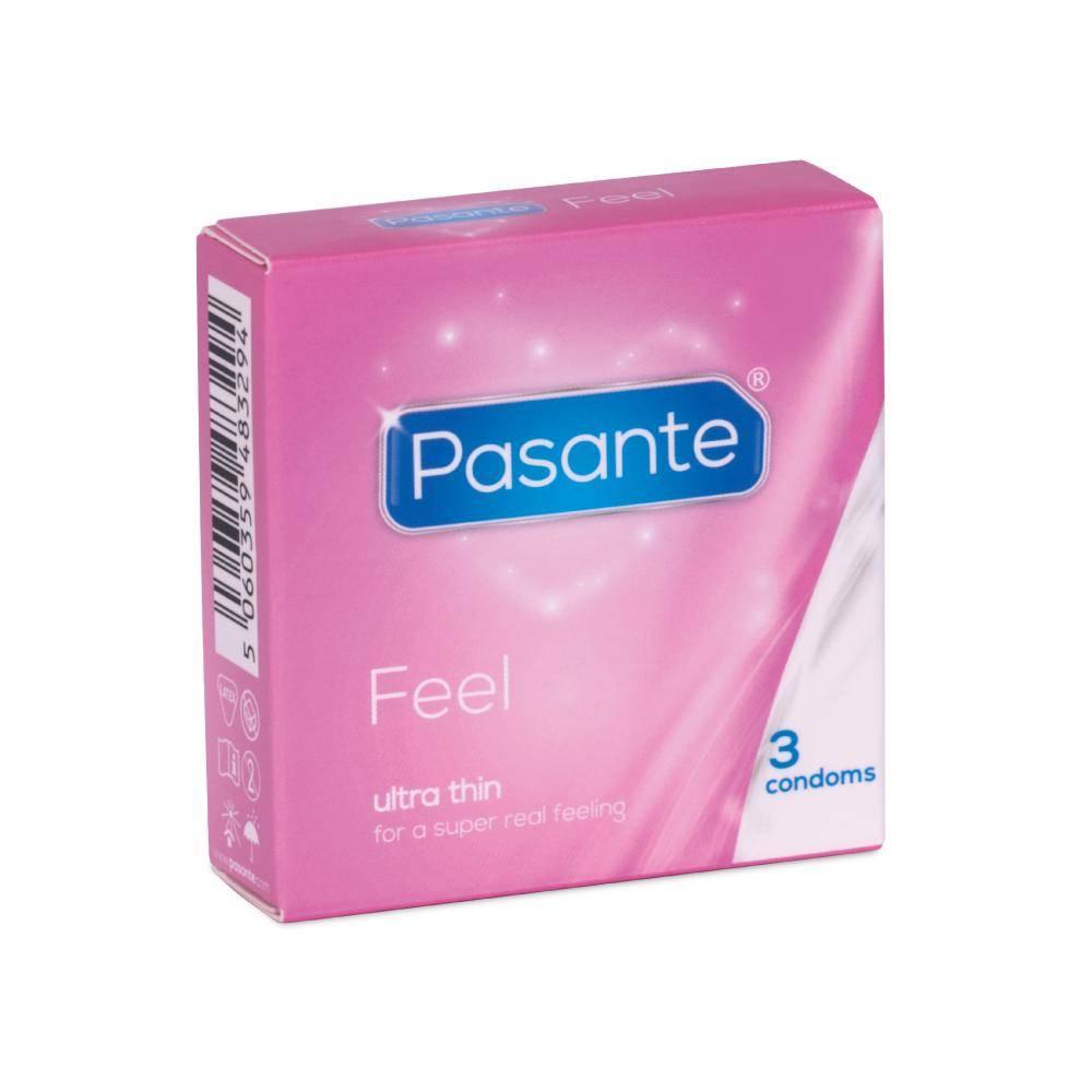 Pasante Feel (Sensitive) Dunnere Condooms 3 stuks