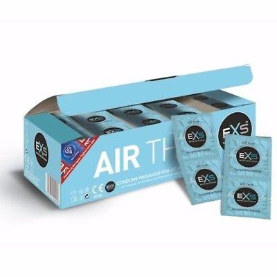 EXS Air Thin Ultra Dunne Condooms 144 stuks
