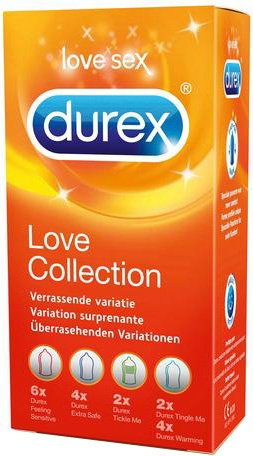 Durex Love Collection - 18 Condooms Assortiment