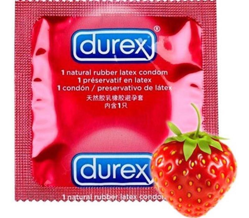 Taste Me aardbei condoom