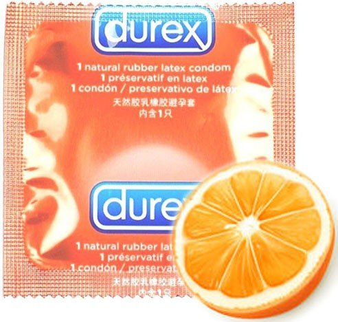 Durex Taste Me Sinaasappel Condoom