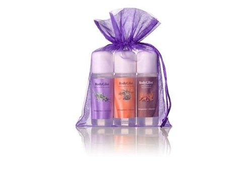 BodyGliss Giftset Paars - Hot Cinnamon, Lavender en Passion