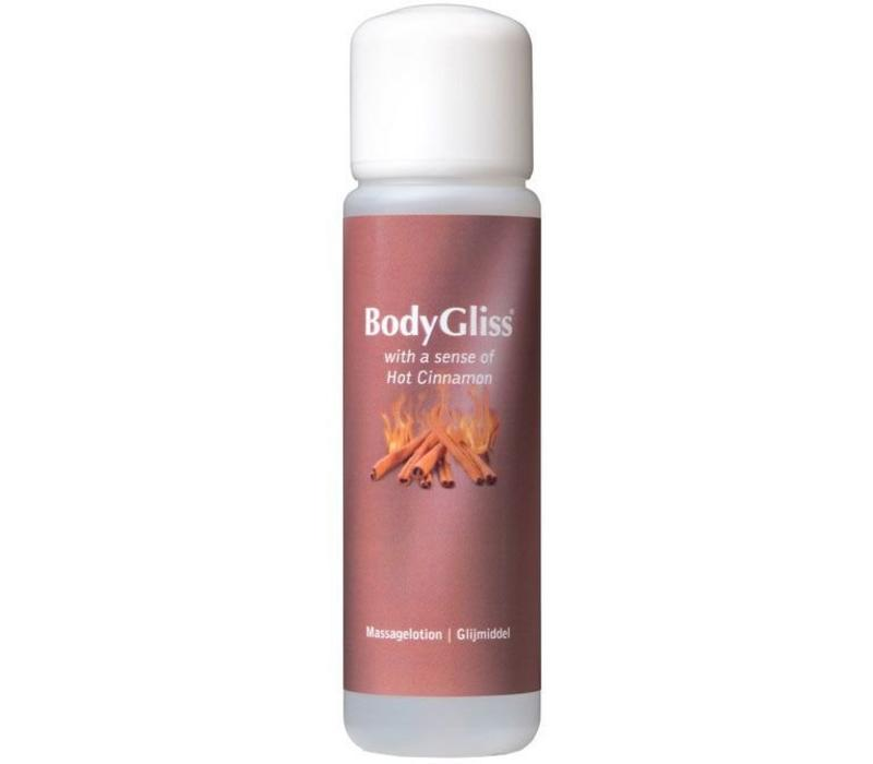 with a sense of Hot Cinnamon (kaneel) massage-/glijmiddel 100ml