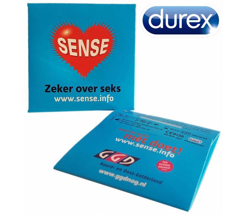 Condooms verpakking met eigen bedrukking