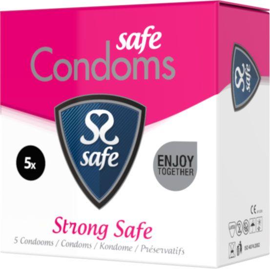 Safe Strong Condooms - Extra Sterke Condooms 5 stuks