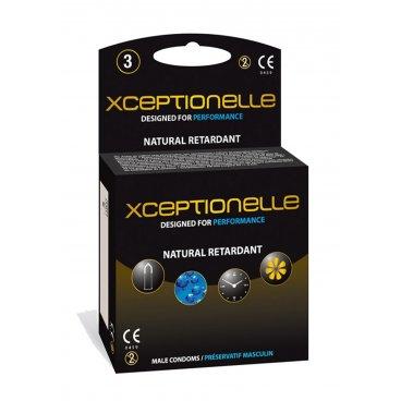Xceptionelle Condooms - Uitstellen Orgasme 3 stuks (doosje)