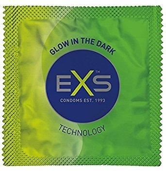 EXS Glow In The Dark Lichtgevende Condooms 12 stuks (zonder doosje)