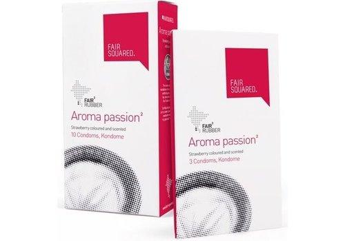 Fair Squared Aroma Passion 100 condooms