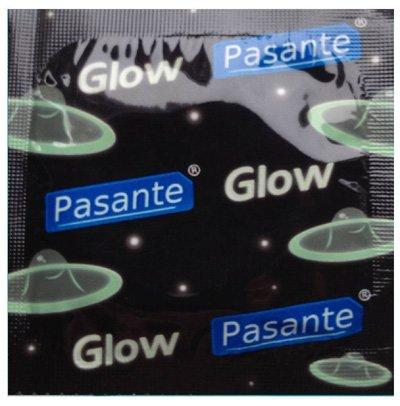 Pasante Glow In The Dark Lichtgevende Condooms 12 stuks (zonder doosje)