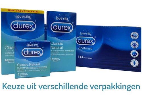 Durex Classic Natural condooms