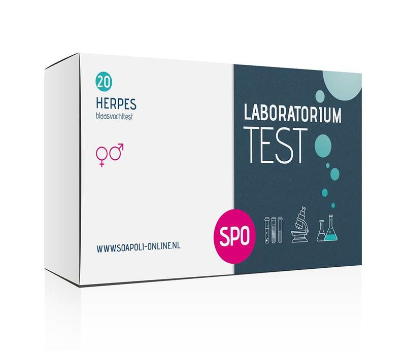 Herpes test - professionele laboratoriumtest